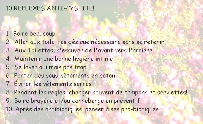 comment guerir infection urinaire rapidement