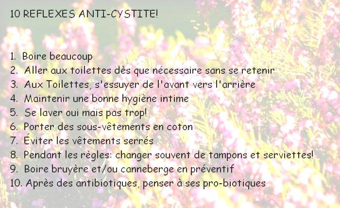 BIO et NATURE, mes RECETTES » Infection urinaire: 10